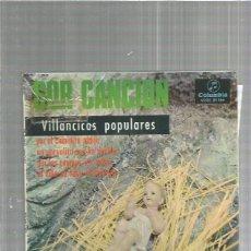 Discos de vinilo: SOR CANCION POR EL CAMINITO ABAJO. Lote 161437642