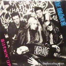 Discos de vinilo: THE BIRDHOUSE BURNIN' UP LP . MC5 STOOGES SEX MUSEUM JIM JONES REVUE HYPNOTICS. Lote 161439874