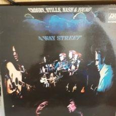 Disques de vinyle: CROSBY,STILLS,NASH Y YOUNG DOBLE LP 4 WAY STREET 1971. Lote 161444129