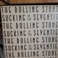 Discos de vinilo: THE ROLLING STONES SUCKING IN THE SEVENTIES LP 1981. Lote 161444874