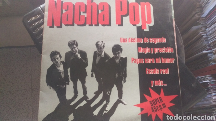 Discos de vinilo: Nacha pop.maxi single - Foto 1 - 161447844