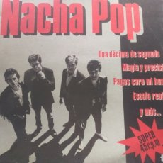 Discos de vinilo: NACHA POP.MAXI SINGLE. Lote 161447844