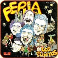 Discos de vinilo: LOS PUNTOS. FERIA. SINGLE. VINILO.. Lote 161455210