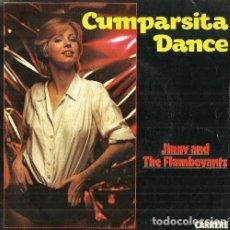 Discos de vinilo: JINNY AND THE FLAMBOYANTS. CUMPARSITA DANCE. SINGLE VINILO. Lote 161456090