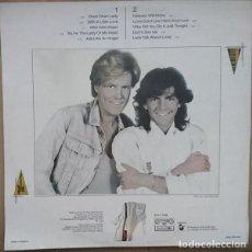 Discos de vinilo: MODERN TALKING. LET'S TALK ABOUT LOVE THE 2ND ALBUM.BALCANTON.HANSA.BULGARIA.1985.. Lote 161459894