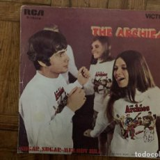 Discos de vinilo: THE ARCHIES ?– SUGAR, SUGAR / MELODY HILL SELLO: RCA VICTOR ?– 3-10418 FORMATO: VINYL, 7 . Lote 161466818