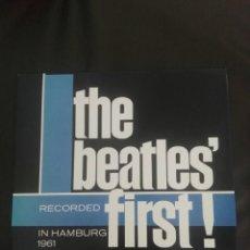 Discos de vinilo: BEATLES' FIRST · HAMBURG TONY WHERIDAN · SPANISH LP 2475662 SIN ESTRENAR . Lote 161474190