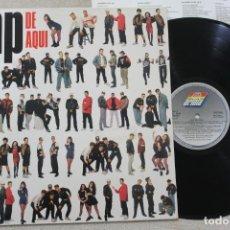 Discos de vinilo: RAP DE AQUI LP VINYL MADE IN SPAIN 1990. Lote 161476294