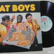 Discos de vinilo: FAT BOYS LP VINYL MADE IN USA 1984. Lote 161476606