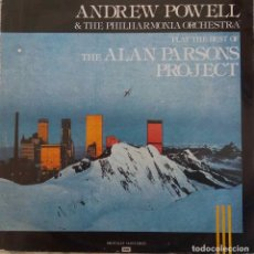 Dischi in vinile: ANDREW POWELL. PLAYS THE BEST OF ALAN PARSONS PROJECT. LP ESPAÑA. Lote 161477534