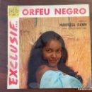 Discos de vinilo: MARPESSA DAWN – ORFEU NEGRO SELLO: BEL AIR – 211 002 SERIE: VOCAL (3) – FORMATO: VINYL, 7 . Lote 161478818