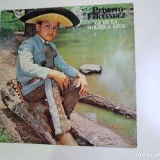 Discos de vinilo: PEDRITO FERNANDEZ - LA DE LA MOCHILA AZUL (VINILO). Lote 161488178