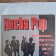 Discos de vinilo: NACHA POP UNA DECIMA DE SEGUNDO. Lote 161511622