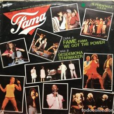Discos de vinilo: LOS CHICOS DE FAMA - FAME - MAXI-SINGLE SPAIN 1983. Lote 161523570