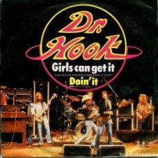 Disques de vinyle: DR.HOOK / LAS CHICAS PUEDEN CONSEGUIRLO TODO / DOIN'T IT (SINGLE 1980). Lote 161529794