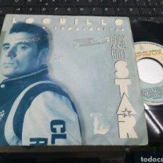 Discos de vinilo: LOQUILLO SINGLE PROMOCIONAL ROCK AND ROLL STAR 1989. Lote 161535041