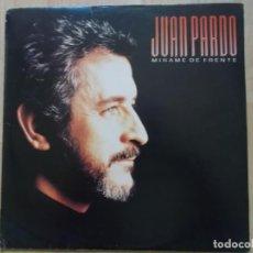 Discos de vinilo: JUAN PARDO, MIRAME DE FRENTE, 1987. Lote 161535998