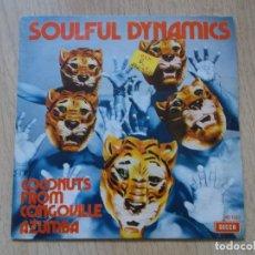 Discos de vinilo: SOULFUL DYNAMICS-COCONUTS FROM CONGOVILLE + AZUMBA S.G. EDITADO POR DECCA EN 1972. Lote 161536930