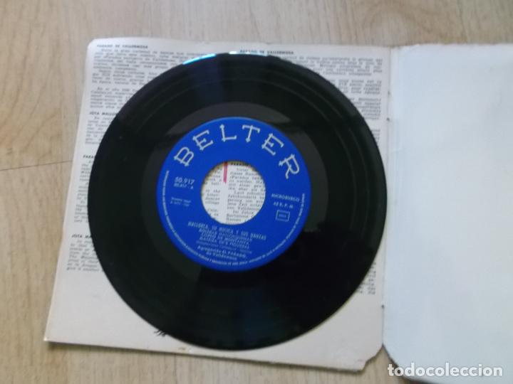 Discos de vinilo: MALLORCA, SU MÚSICA Y SUS DANZAS - EP BELTER 1960 - AGRUPACIÓN EL PARADO DE VALLDEMOSA - Foto 3 - 161537178
