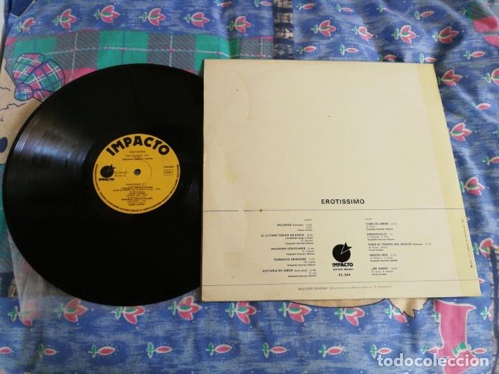 Discos de vinilo: EROTISSIMO EL ULTIMO TANGO EN PARIS MUSICA EROTICA LP VINILO 1977 DESNUDO SEXY COVER EMMANUELLE - Foto 2 - 161538656