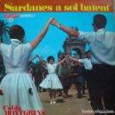 Discos de vinilo: COBLA MONTGRINS - SARDANES A SOL BATENT -LP VERGARA 1967 (LA NOIA ALEGRE QUE NO SAP PLORAR, Y OTRAS). Lote 161547510
