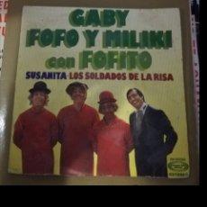 Discos de vinilo: GABI, FOFO Y MILIKI CON FOFITO - SUSANITA. Lote 161549997
