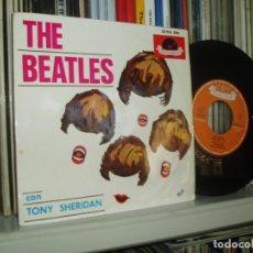 Discos de vinilo: THE BEATLES EP MY BONNIE + 3 SPANISH POLYDOR 1964 SPAIN. Lote 161553490