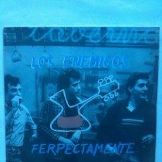 Discos de vinilo: LOS ENEMIGOS FERPECTAMENTE. Lote 161554022