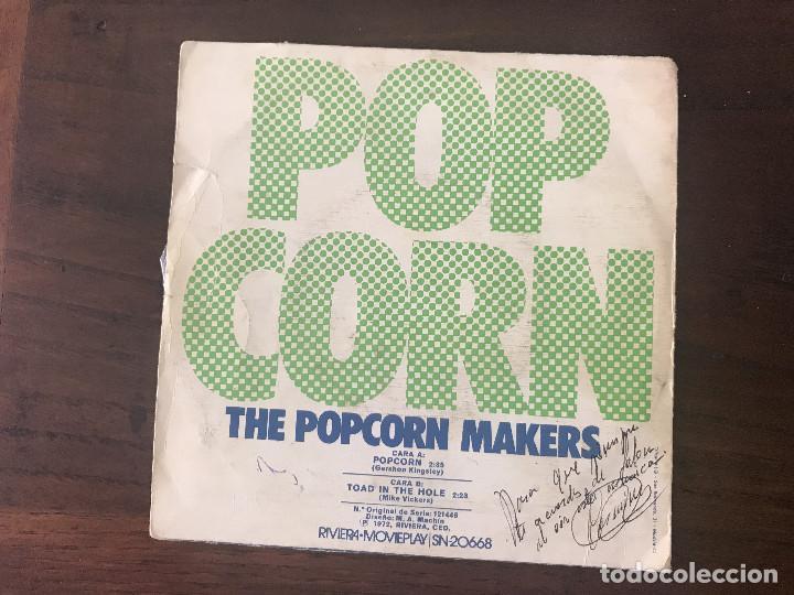 THE POPCORN MAKERS ?– POP CORN VINYL, 7 , 45 RPM FECHA: 1972 GÉNERO: POP ESTILO: EUROPOP PISTAS (Música - Discos - Singles Vinilo - Electrónica, Avantgarde y Experimental)