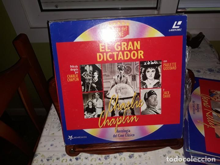 LOTE DE 9 LASERDISC DE ANTOLOGIA DEL CINE CLÁSICO *** IMPECABLES (Música - Discos - Singles Vinilo - Bandas Sonoras y Actores)