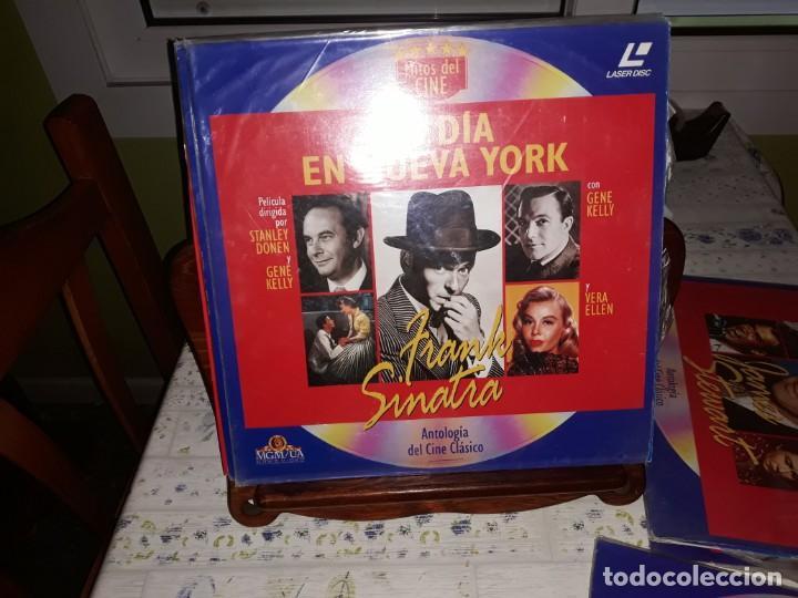 Discos de vinilo: Lote de 9 LaserDisc de Antologia del cine clásico *** Impecables - Foto 2 - 161572686