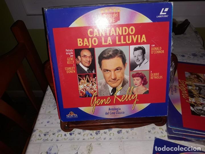 Discos de vinilo: Lote de 9 LaserDisc de Antologia del cine clásico *** Impecables - Foto 3 - 161572686