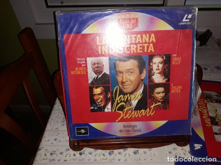Discos de vinilo: Lote de 9 LaserDisc de Antologia del cine clásico *** Impecables - Foto 5 - 161572686