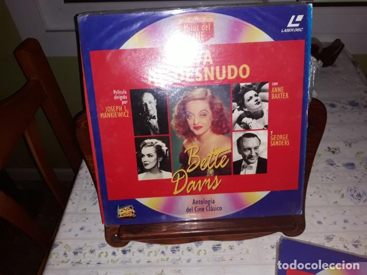 Discos de vinilo: Lote de 9 LaserDisc de Antologia del cine clásico *** Impecables - Foto 6 - 161572686