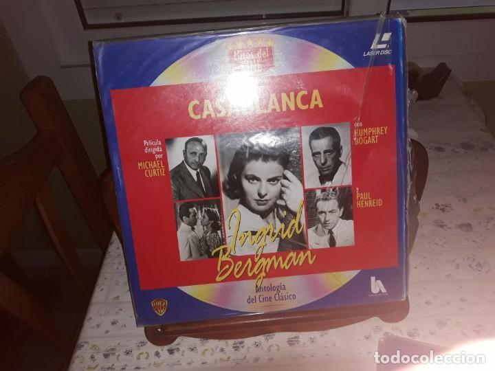 Discos de vinilo: Lote de 9 LaserDisc de Antologia del cine clásico *** Impecables - Foto 8 - 161572686