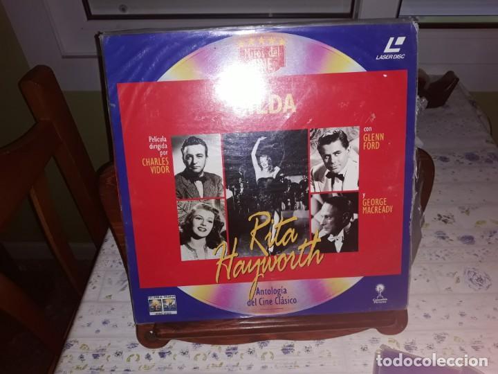 Discos de vinilo: Lote de 9 LaserDisc de Antologia del cine clásico *** Impecables - Foto 9 - 161572686