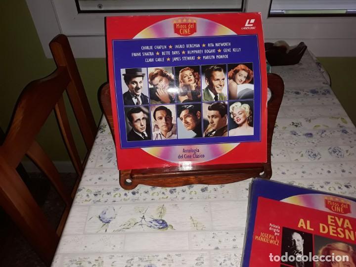 Discos de vinilo: Lote de 9 LaserDisc de Antologia del cine clásico *** Impecables - Foto 10 - 161572686