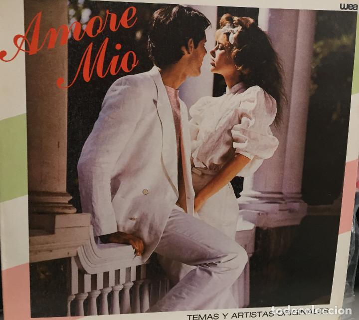 AMORE MIO - VARIOS INTERPRETES - WEA - RODVEN DISCOS - VENEZUELA - 1982 (Música - Discos - LP Vinilo - Canción Francesa e Italiana)