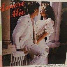 Discos de vinilo: AMORE MIO - VARIOS INTERPRETES - WEA - RODVEN DISCOS - VENEZUELA - 1982. Lote 161592418