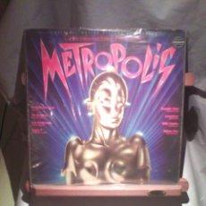 Discos de vinilo: METROPOLIS (ORIGINAL MOTION PICTURE SOUNDTRACK). Lote 205568175
