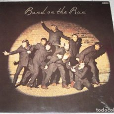 Discos de vinilo: THE BEATLES - MCCARTNEY BAND ON THE RUN (RARA EDICION ESPAÑOLA CON LABEL DISTINTO). Lote 161602974