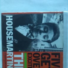 Discos de vinilo: THE HOUSEMARTINS FIVE GET OVER EXCITED . Lote 161612322