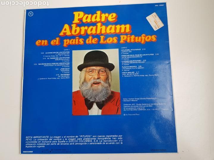 Discos de vinilo: Padre Abraham - Padre Abraham En El País De Los Pitufos (VINILO) - Foto 2 - 161614069