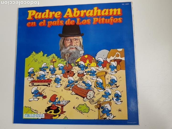 PADRE ABRAHAM - PADRE ABRAHAM EN EL PAÍS DE LOS PITUFOS (VINILO) (Música - Discos - LPs Vinilo - Música Infantil)