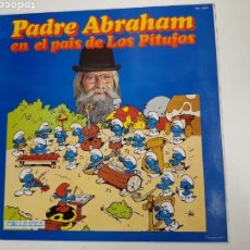 Discos de vinilo: PADRE ABRAHAM - PADRE ABRAHAM EN EL PAÍS DE LOS PITUFOS (VINILO). Lote 161614069