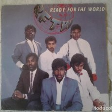 Discos de vinilo: READY FOR THE WORLD-READY FOR THE WORLD. Lote 161622026