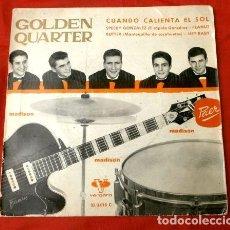 Discos de vinilo: GOLDEN QUARTER (EP. 1962) CON TONY PREYSLER - CUANDO CALIENTA EL SOL, SPEEDY GONZALEZ. Lote 161670790