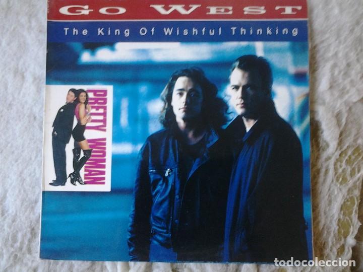 GO WEST-THE KING OF WISHFUL THINKING (Música - Discos de Vinilo - Maxi Singles - Pop - Rock Extranjero de los 90 a la actualidad)