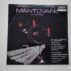 Discos de vinilo: MANTOVANI Y SU ORQUESTA LP DECCA 1963. Lote 161690066