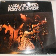 Discos de vinilo: LP 2 DISCOS ZAPPA / MOTHERS. ROXY & ELSEWHERE. CARPETA DOBLE REPRISE RECORDS 1974 SPAIN (SEMINUEVO). Lote 161696150
